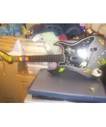 PS2 Guitar Hero Kramer Striker RedOctane Wireless Controller NO DONGLE 9... - $38.99