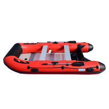BRIS 12ft Inflatable Boat Dinghy Raft Pontoon Rescue & Dive Raft Fishing Boa image 7