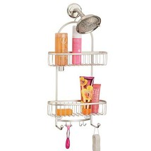 mDesign Vintage Metal Wire Bathroom Tub & Shower Caddy, Hanging Storage ... - $25.20