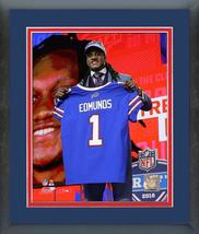 Tremaine Edmunds Bills 2018 NFL Draft #16 Draft Pick - 11x14 MattedFrame... - $43.95