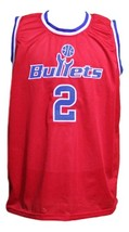 John Wall #2 Washington Basketball Jersey Sewn Red Any Size image 3