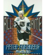 1997-98 Revolution 1998 All-Star Game Die-Cuts #6 Peter Forsberg (1:49)! - $4.99