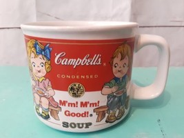 Rare Vtg Campbell's Soup M'm! M'm! Good! Kids Ceramic Soup Mugs by Westw... - $18.49