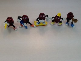 Lot of 5 California Raisins 1988 - $14.96