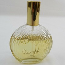 Ostentation Perfume Parfum 100 ml.  or 3.5 oz Bottle 3/4 Full - $16.46