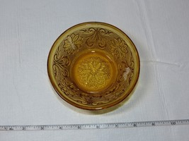"Amber Glass Indiana Glass Depression Glass Sauce Dessert Bowl 4 1/2""~ - $29.69"