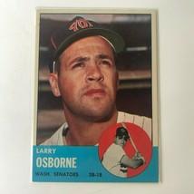 1963 Topps Set Break 514 Larry Osborne Washington Senators  - $6.00