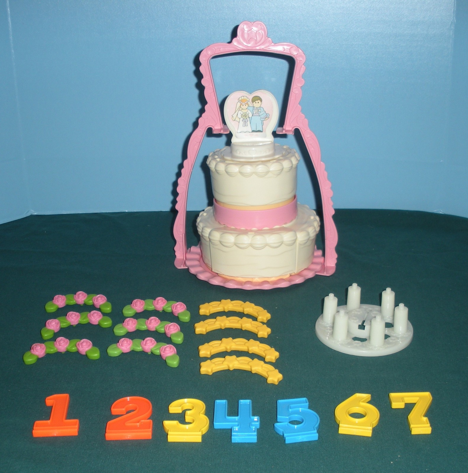 Vtg. Fisher Price Fun-with-Food #2152 Create-a-Cake Complete/EXC++-NR MINT! (H)