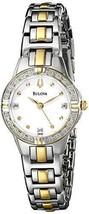 Pre-owned Bulova Women's 98R166 Diamond Case Watch - $148.45