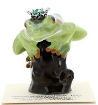 Hagen-Renaker Miniature Tree Frog Figurine Birthstone Prince 05 May Emerald - $15.96