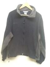 Men's Columbia Blue/Gray L/S Full Zip Fleece Jacket size XL EUC - $17.95
