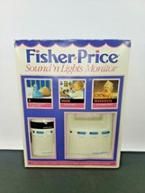 Fisher Price Baby Monitor Sound 'N Lights Transmitter Receiver #1550 1994 USED - $29.69