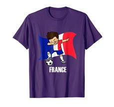 Sport Shirts - Dabbing Soccer Boy France Jersey Tee - France Flag Football Men - $19.95+