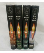 Doctor Who Book Lot of 4 BBC Hardcover Zygons Monsters Last Dodo Wooden ... - $24.73
