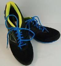 Reebok Zigteck Men's Running Sneakers Black Blue Yellow US 11  V53357 - $46.97
