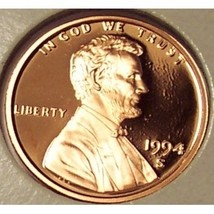 1994-S DCAM Proof Lincoln Cent PF65 #0184 - $6.99
