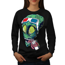 Alien 3D Glasses Fashion Jumper  Women Sweatshirt - $18.99