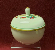 MIKASA China - MERRY CHRISTMAS Pattern - Covered SUGAR BOWL - $24.95