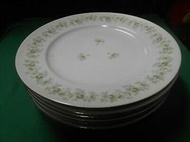 """Beautiful Johann Haviland """"Forever Spring""""...Set Of 6 Dinner Plates - $27.31"""