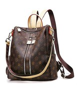 Olyphy Fashion Leather Backpack Casual Purse for Women,Designer PU Shoul... - $22.87