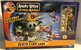 Angry Birds Star Wars Death Star Jenga Game Set Complete - $19.99