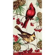Winter Cardinal 16 Count Guest Towel Paper Napkins - $6.10