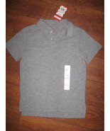 XS 4/5/6* UNIFORM CAT& JACK BOYS GIRLS KIDS SHIRT SOLID SCHOOL GRAY T-Shirt - $6.99