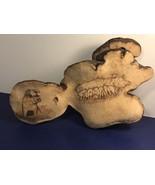 PIG WOOD CARVING FIGURINE SIGNED ARTIST TAYLOR PIGLETS SIGNATURE ART SCU... - $74.25