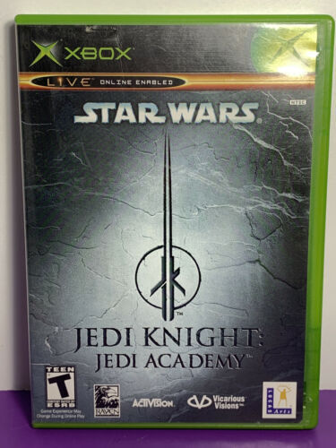 Primary image for Star Wars: Jedi Knight -- Jedi Academy (Microsoft Xbox, 2003) Pre-Owned