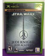 Star Wars: Jedi Knight -- Jedi Academy (Microsoft Xbox, 2003) Pre-Owned - $14.84