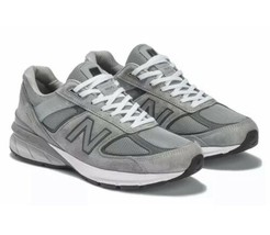New Balance 990v5 Made In USA W990GL5 Casual Grey Womens Size 9.5 New In... - $195.99