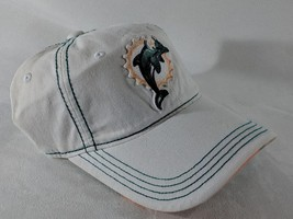 LZ NFL Team Apparel Adult One Size OSFA Miami Dolphins Baseball Hat Cap ... - $18.52