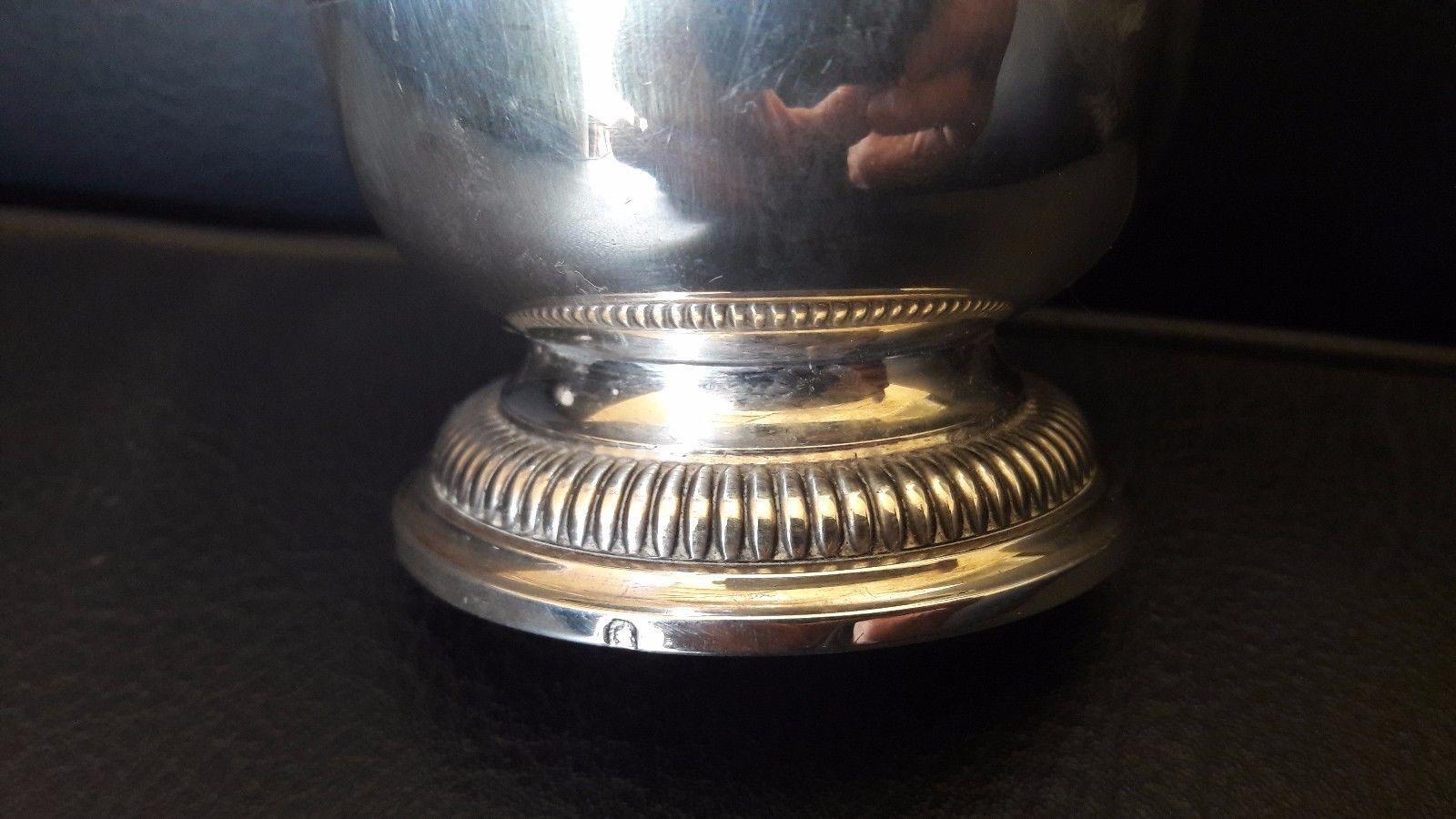 Puiforcat - old Sterling silver bowl - vase (Canada)