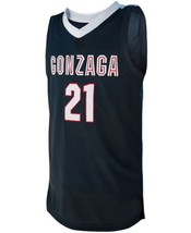 Rui Hachimura #21 College Custom Basketball Jersey Sewn Navy Blue  Any Size image 4