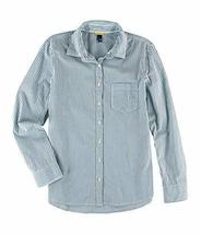 Aeropostale Womens Striped Pocket Button Up Shirt 443 S - Juniors - $13.95