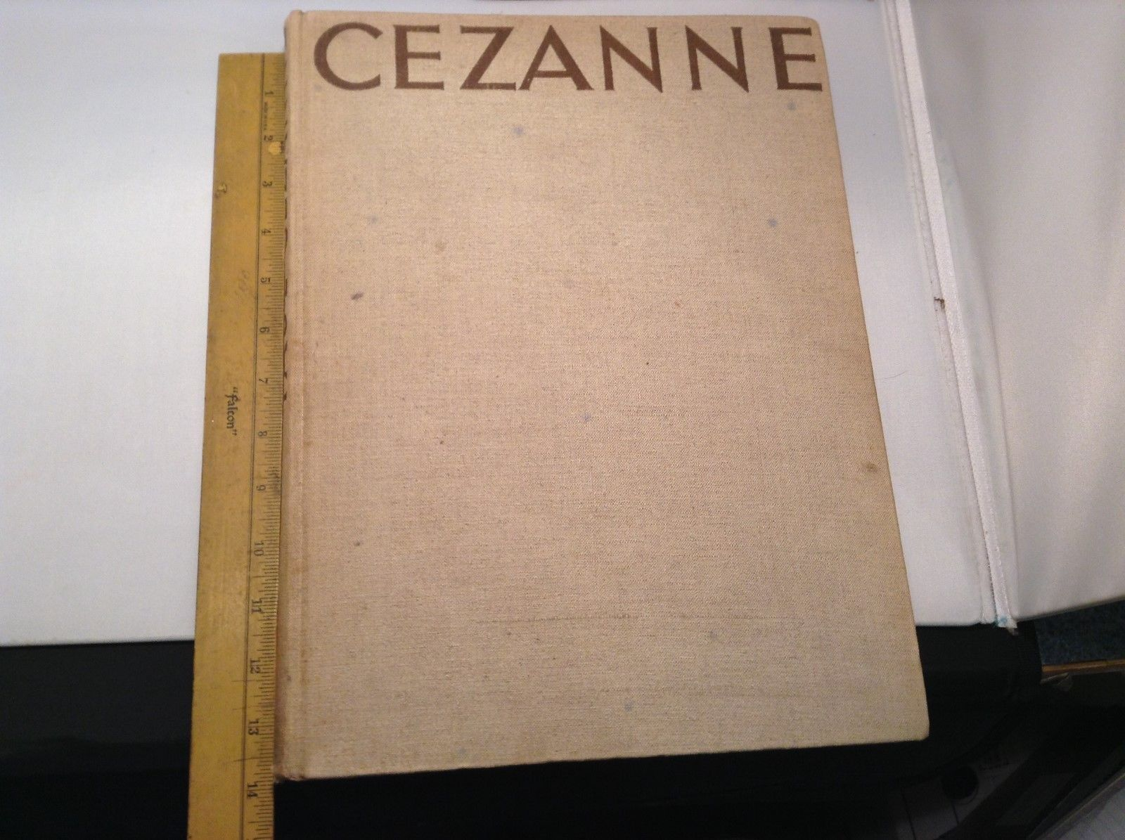Cezanne Antique Coffee Table Book Copyright 1937