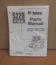Bobcat S220 Parts Manual Book Skid steer loader 6904243 NEW - $53.36+