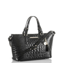Brahmin MINI ASHER black MELBOURNE Bag - $347.59 CAD
