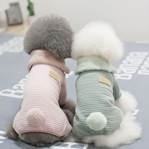 Cotton Dog Clothes Pet Overalls for Dogs Jumpsuits Pet Clothes for Dogs ... - $584,10 MXN