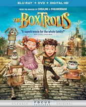 The Boxtrolls [Blu-ray + DVD]