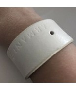 "Armani Exchange White Leather 1"" Cuff Bracelet J355 - $28.49"