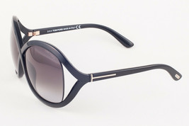 Tom Ford SANDRA Black / Gray Gradient Sunglasses 297 01B 62mm - $185.22