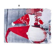 Polyester Christmas Tablecloth Rectangle Decor Table Cover TkLandon (B) - $19.80