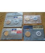 John Adams Washington 1974 Bicentennial Medal First day Cover 4 Medals - $18.00