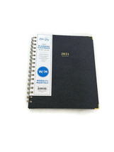 Blue Sky Gray Weekly/Monthly Planner Organizer 2021 Tabbed Hardcover - $12.16