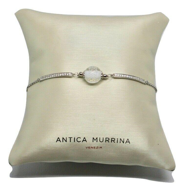 Bracelet Antica Murrina Venezia Silver 925 and Murano Glass AMVJWBT009C01