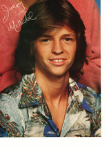 Jimmy Mcnichol Peter Barton teen magazine pinup clipping Superteen shirt 1970's