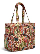 Vera Bradley Signature Cotton Get Carried Away Tote, Heirloom Paisley