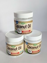 (3) Natures Way Organic Extra Virgin Coconut Oil 16 Ounce Each - $34.41