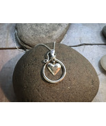 """The """"Bundle of Love"""" Pendant - Sterling Silver Pendant on 18"""" Sterling S... - $121.00"""